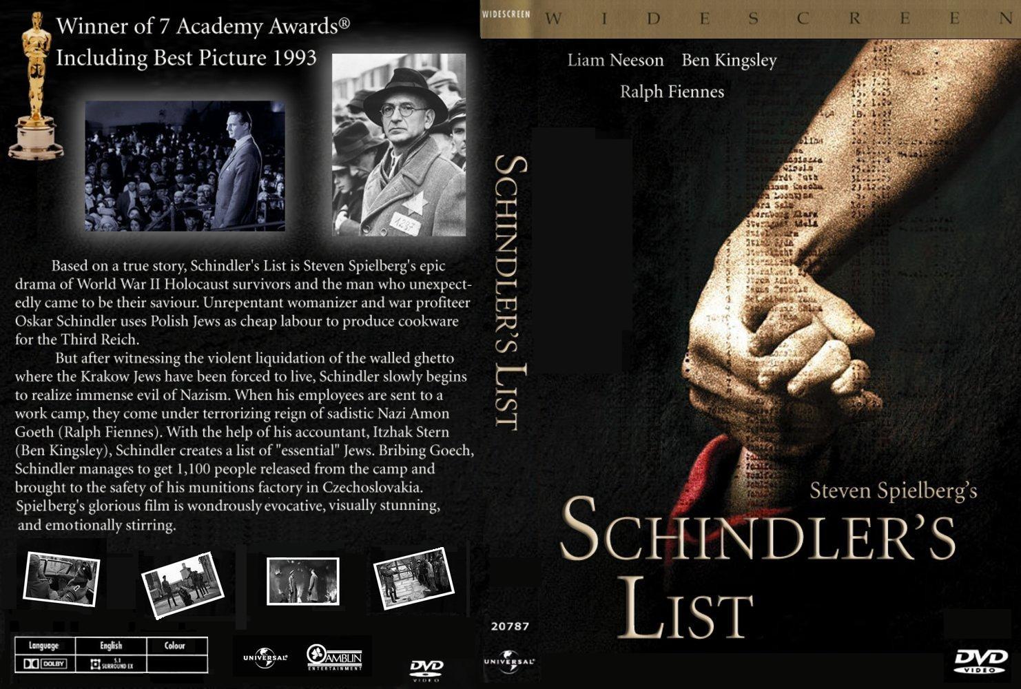 a lista de schindler rmvb dublado